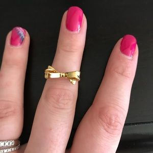 Kate Spade Delicate Gold Bow Ring